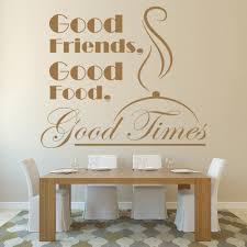 Good Friends Good Food Kitchen Quote Wall Decal Sticker Ws 46232 Ebay