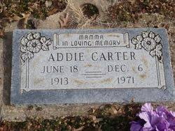 Addie Dobbs Carter (1913-1971) - Find A Grave Memorial