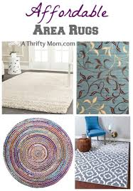 affordable area rugs a thrifty mom