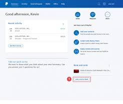add a new credit card to paypal