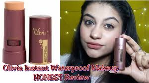 olivia waterproof makeup stick pact