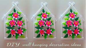 diy home decoration paper flowers frame