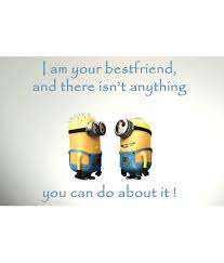 stybuzz minions friendship quote poster posters buy stybuzz