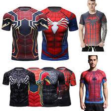 marvel spiderman short t shirt for men