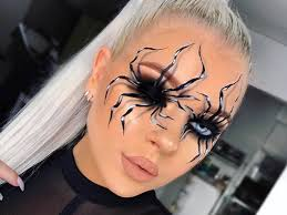3d spider makeup tutorial