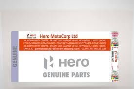 hero motocorp genuine parts
