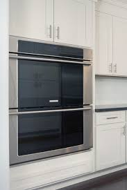 wall oven cabinet built in double
