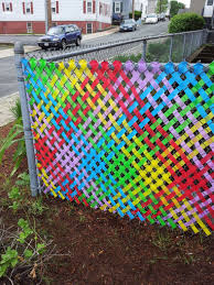 Join Us On July 18th To Help Create A Rainbow Fence Fence Weaving Fence Art Fence Decor