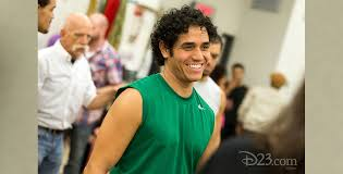 Adam Jacobs as Aladdin in 2014 Broadway Production - D23