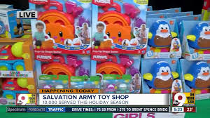 salvation army toy opens monday