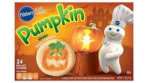 shape pumpkin sugar cookies