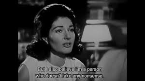 Maria Callas french interview with Bernard Gavoty - YouTube