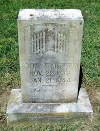 Addie Thompson (1879-1944) - Find A Grave Memorial