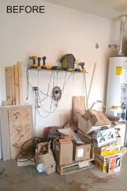 how to build a diy garage storage wall