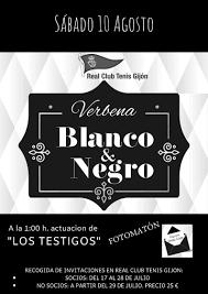Verbena Blanco Y Negro Real Club Tenis Gijon