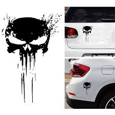 Punisher Skull Blood Vinyl Car Decals Stickers Motorcycles Decoration Walmart Canada