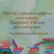 diversity is what unites quotes writings by
