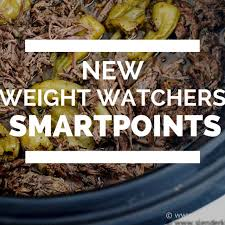 new weight watchers smartpoints