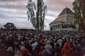 Anzac Day dawn service Shrine of ...