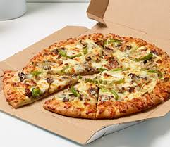 pizza veggie hawaiian spinach