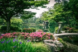 six attributes japanese zen garden
