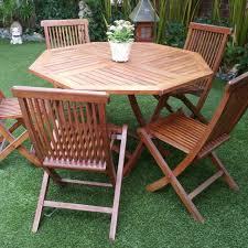 outdoor teakwood garden chair set