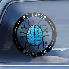 Adventure Simulation Mmo Rts Rpg Fps Pc Gaming Sticker Pc Gamer Brain Decal