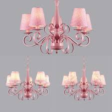 flower lace plaid pendant lamp with