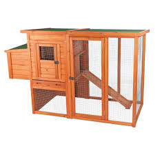 Trixie Chicken Coop With Outdoor Run 55961 The Home Depot