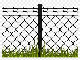 Jpg Transparent Library Barbed Fence Chain Link Hand Barbed Wire Fence Clipart Png Download 348472 Pikpng
