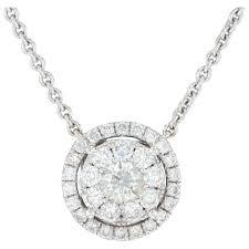 1 65ctw diamond eternity circle halo