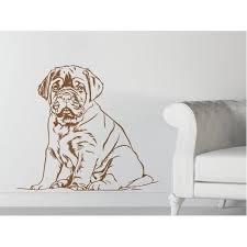 Shop Mastiff Puppy Dog Vinyl Sticker Wall Art Overstock 10180661