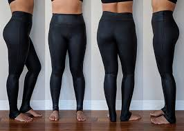 spanx faux leather leggings review by