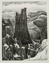 Bryce Canyon by Fanny Adele Watson | Annex Galleries Fine Prints
