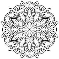 Mandala24 Topkleurplaat Nl Mandala Art Boyama Sayfalari