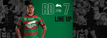 Round Seven Line Up vs Panthers - Rabbitohs