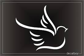 Dove Tribal Decal