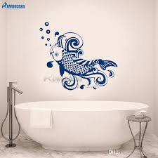 3d Fish Wall Stickers Mirror Decal Fish Home Bathroom Decor Removable Diy Ru