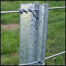 1650mm Standard Smartpost For Standard 7 Wire Assemblies Steel Fence Posts