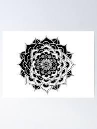 Prosperity Mandala Poster By Ahmedfouad Redbubble