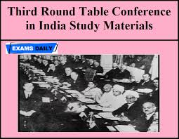 third round table conference in india