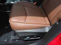 premium fabric seat covers rosso red