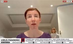New shadow chancellor Anneliese Dodds ...