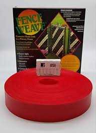Amazon Com Pexco Original Brand Fence Weave 250 Roll Made In The Usa Stop Sign Red Garden Outdoor