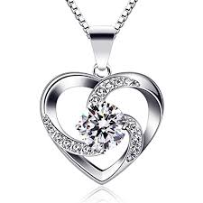 b catcher women necklace 925 sterling