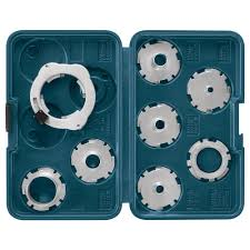 Bosch Router Template Guide Kit 8 Piece Ra1128 The Home Depot