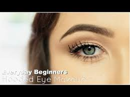 beginner eye makeup for hooded eye