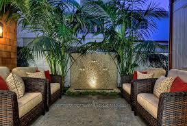 tropical outdoor patio fresh wall decor
