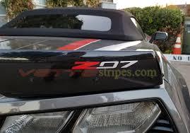 C7 Corvette Rear Spoiler Z51 Z06 Z07 Z07 R C7 R Grand Sport Letters Decals Vettestripes Com