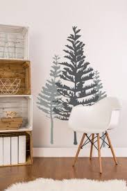 Pine Tree Wall Decals Wall Star Graphics